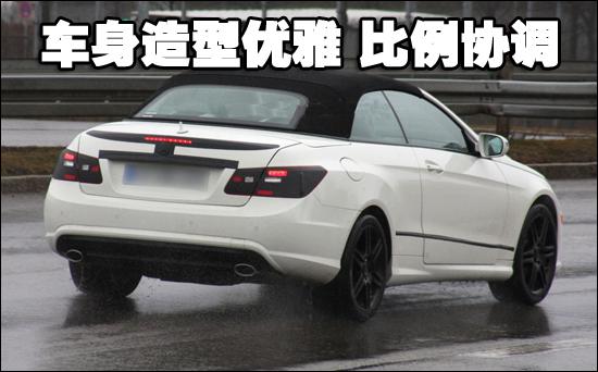 奔驰新e级敞篷车2011年推出 谍照曝光 中国机动车网 中国高清图片