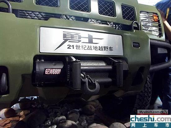 军用越野车勇士即将推出民用型