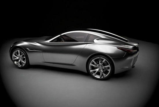 英菲尼迪20周年跑车 lv设计 抽象内饰颠覆传统 高清图片