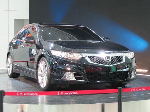 东风本田高端运动车年前上市 预售价30万元左右