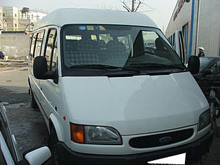 普通型福特全顺JX6451D-H柴油高顶15座