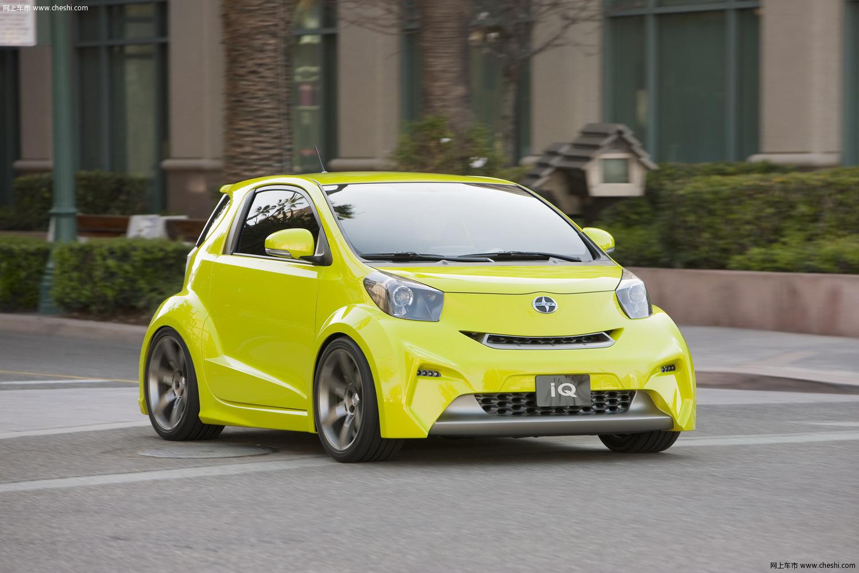 丰田scion iq概念车  相关文章·丰田推出f1概念赛车 展示高清图片