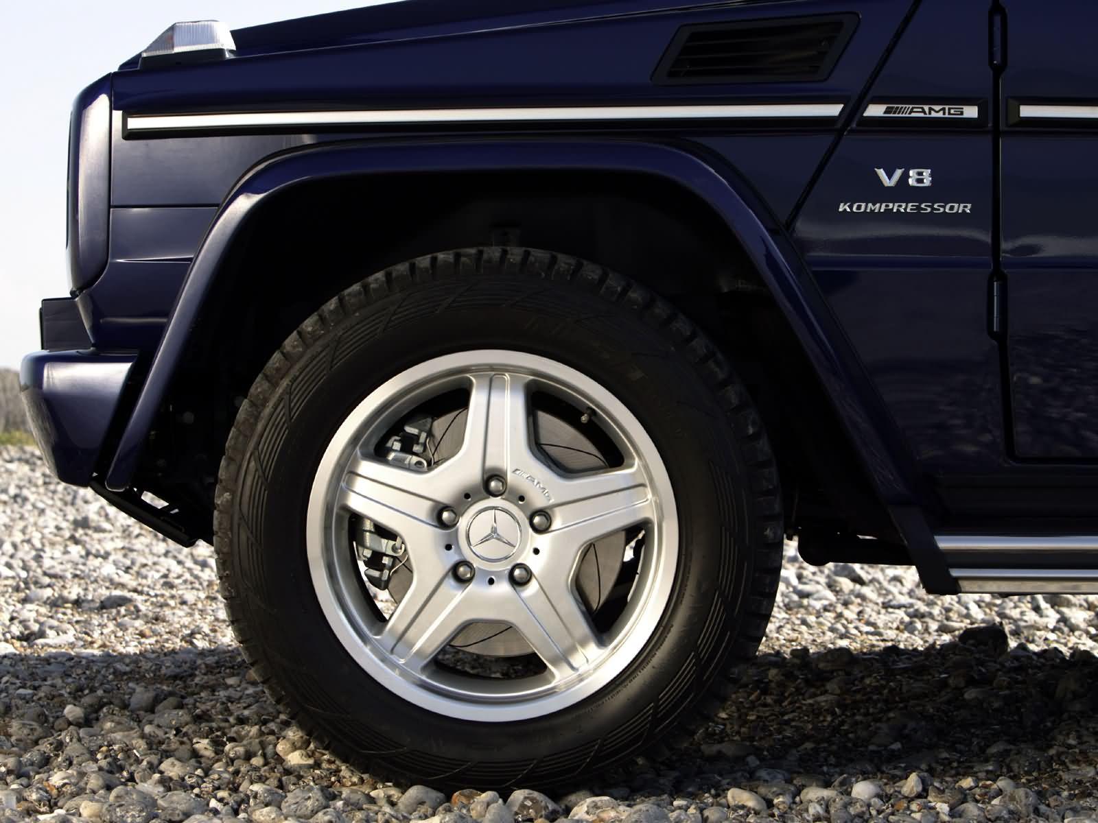 奔驰G55越野车 AMG改装高清图片