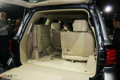 雷克萨斯全新lx570亮相2007纽约车展 xcar汽车高清图片