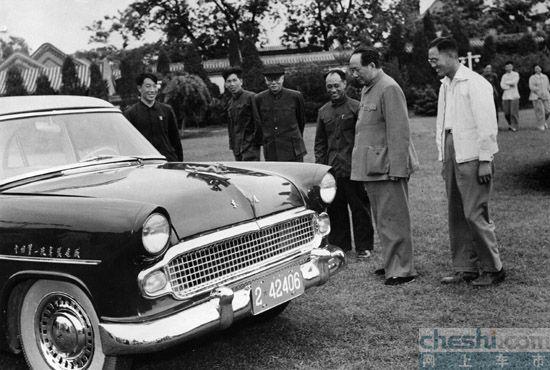 1958年第一辆红旗轿车-红旗HQ3品鉴之旅 深圳站鉴玉 品车高清图片