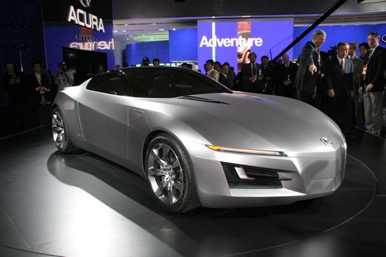 本田讴歌NSX高级运动概念车2010年现身高清图片