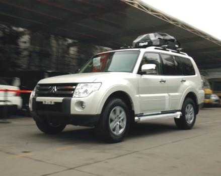 态度明确 初探三菱帕杰罗v97 济南泉通汽车销售服务有限公司 网上车高清图片