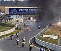 F1赛道车祸